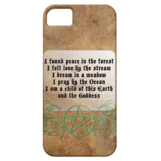 Beautiful Wiccan Poem iPhone SE/5/5s Case