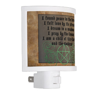 Beautiful Wiccan poem Night Light