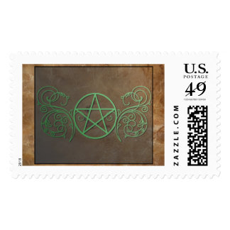 Beautiful Wiccan Poem Postage