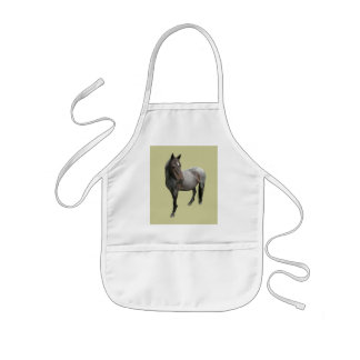 Beautiful Wild Dartmoor Horse Kids' Apron