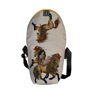 Beautiful Wild Horse COURIER BAG
