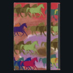 "beautiful wild horses iPad mini cover<br><div class=""desc"">Cool graphic horse patterning</div>"
