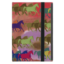 beautiful wild horses iPad mini cover