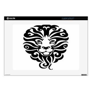 "Beautiful Wild Lion Mascot 15"" Laptop Skins"
