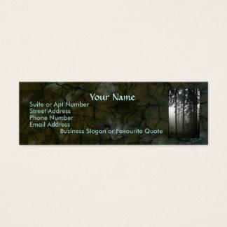Beautiful Wilderness Scene from Nature Mini Business Card