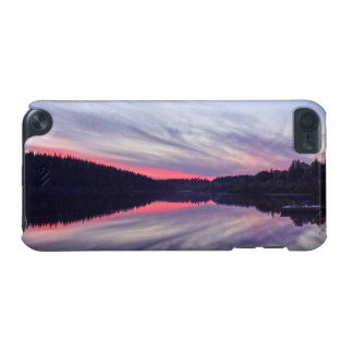 Beautiful Wilderness Sunset over Lake Photo iPod Touch 5G Cases