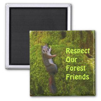 Beautiful Wildlife Design for Animal-lover Magnet