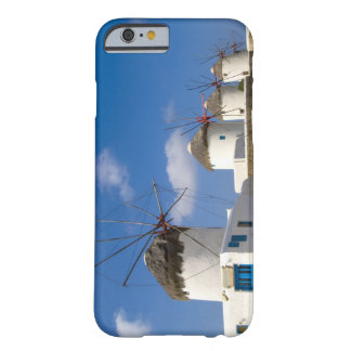 Beautiful windmills on the island of Mykonos, Barely There iPhone 6 Case