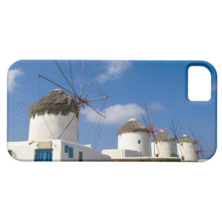 Beautiful windmills on the island of Mykonos, iPhone 5 Cases