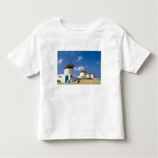 Beautiful windmills on the island of Mykonos, Toddler T-shirt