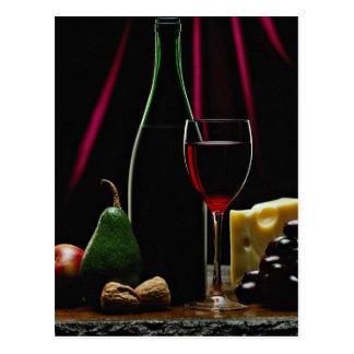 Beautiful Wine bottle Postcard