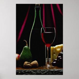 Beautiful Wine bottle Poster