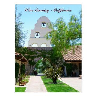 Beautiful Wine Country/California Postcard! Postcard
