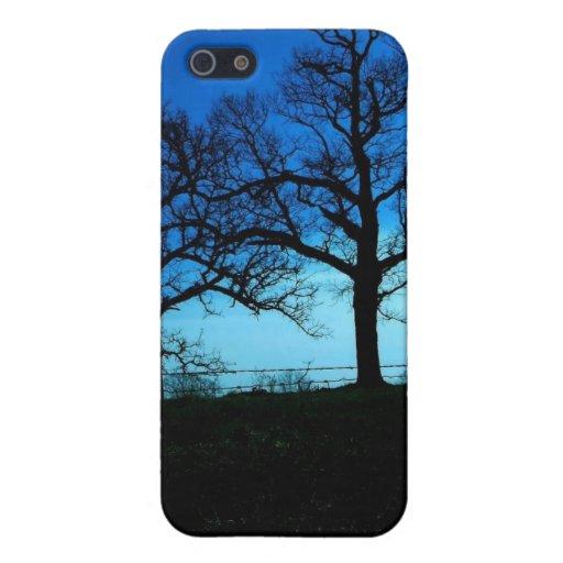 Beautiful winter scene iPhone 5/5S case