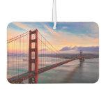 Beautiful winter sunset at Golden Gate Bridge Air Freshener