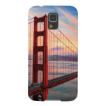 Beautiful winter sunset at Golden Gate Bridge Galaxy S5 Cases