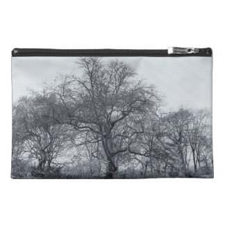 Beautiful Winter Trees in Central Park, NYC Travel Accessories Bag