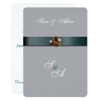 Beautiful, Winter Wedding Invitation