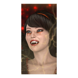 Beautiful Witch Card