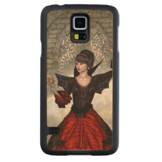 Beautiful Witch Carved® Maple Galaxy S5 Case