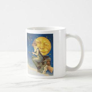 Beautiful Witch Cross Stitch Coffee Mug