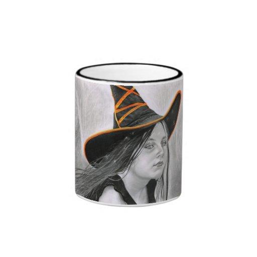 Beautiful Witch Halloween Mug