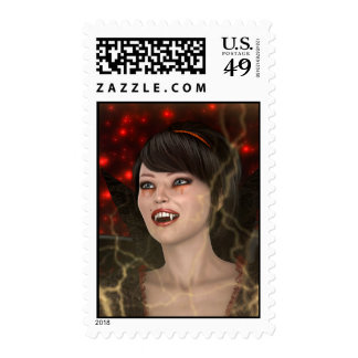 Beautiful Witch Postage