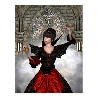 Beautiful Witch Postcard