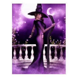 Beautiful Witchery Postcard