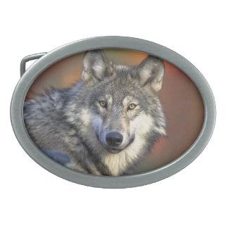 Beautiful Wolf Belt Buckle
