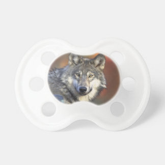 Beautiful Wolf Pacifier