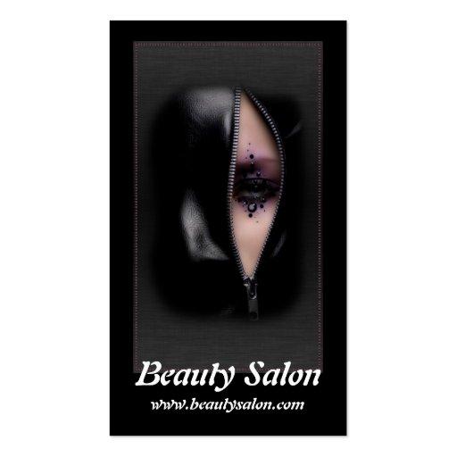 Beautiful woman 11b beauty salon business cards zazzle for A b beauty salon houston