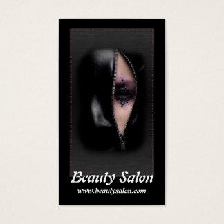 Beautiful Woman 11b Beauty Salon Business Cards