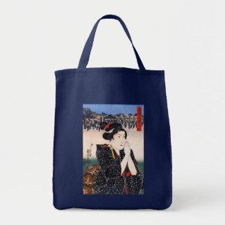 Beautiful Woman Bijin-ga, Utagawa Kuniyoshi Tote Bag