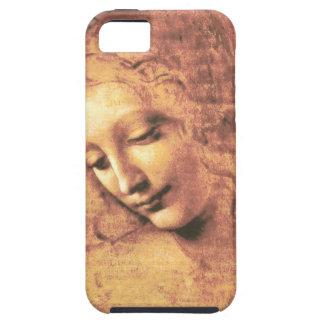 Beautiful Woman by Leonardo da Vinci iPhone SE/5/5s Case