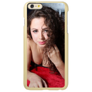 Beautiful Woman Incipio Feather Shine iPhone 6 Plus Case