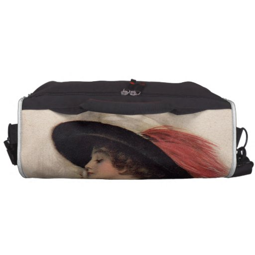 Beautiful Woman Voting - Vintage Suffrage Fashion Commuter Bags