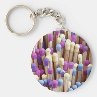 Beautiful Wooden matches Keychains