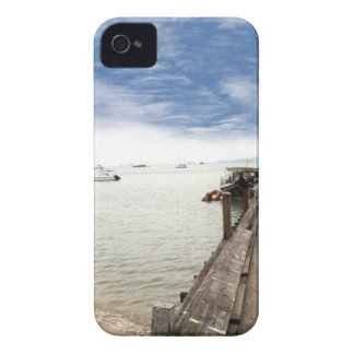 beautiful wooden pier in Thailand iPhone 4 Covers