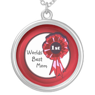 Beautiful Worlds Best Mom Necklace