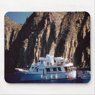 Beautiful-yacht, out for a cruse, on a mouse pad