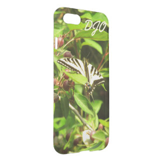 Beautiful Yellow Black Butterfly Crabapple Tree iPhone 8/7 Case