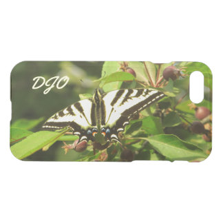 Beautiful Yellow Black Butterfly on Crabapple Tree iPhone 8/7 Case