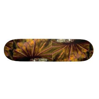 Beautiful Yellow crinoid Skate Boards