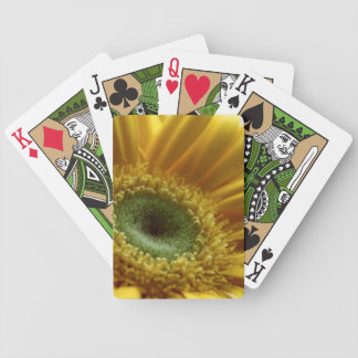 Beautiful Yellow Flower in the Morning Light Bicycle Playing Cards