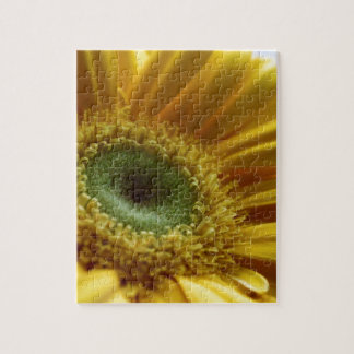 Beautiful Yellow Flower in the Morning Light Jigsaw Puzzle
