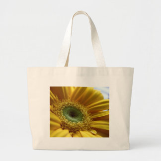 Beautiful Yellow Flower in the Morning Light Large Tote Bag