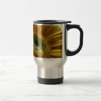 Beautiful Yellow Flower in the Morning Light Travel Mug