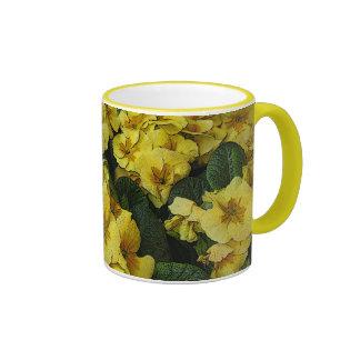 beautiful yellow flowers mug
