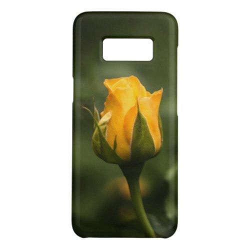 Beautiful yellow rose bud. Phone Case